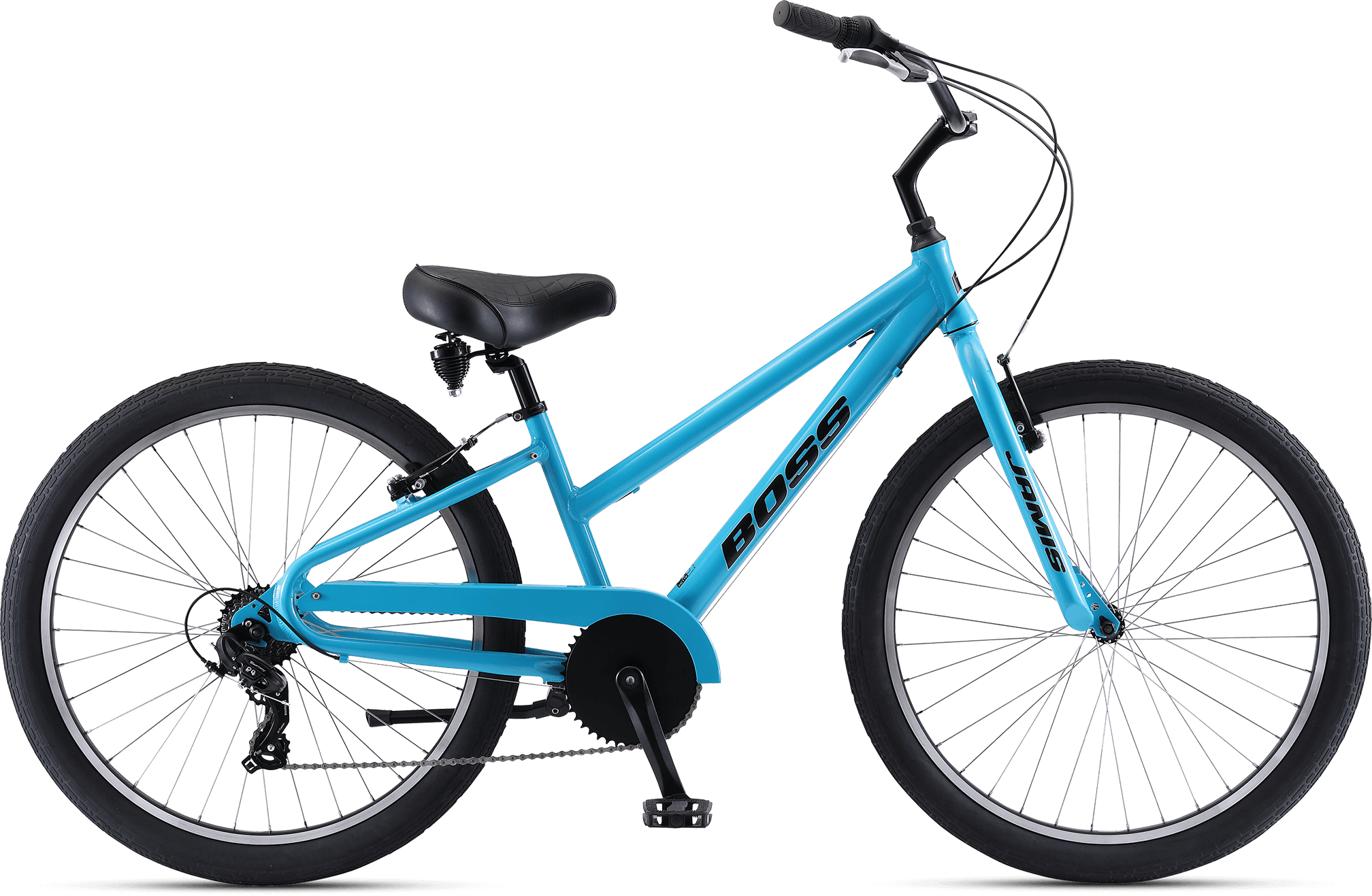 Jamis Boss Cruiser 7-Sp Step-Over Blue Lagoon