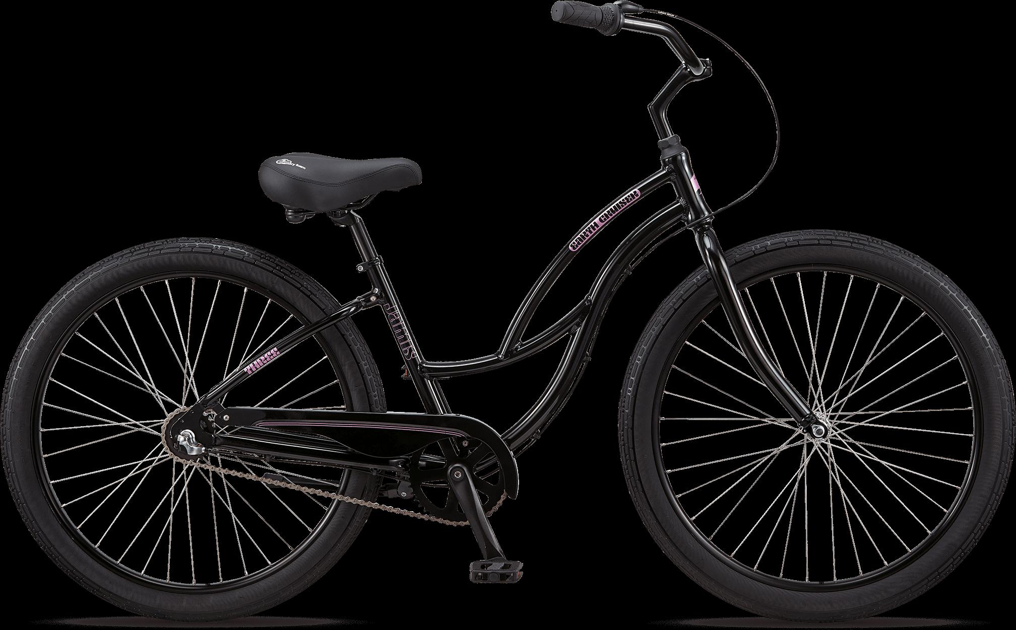 Jamis® Earth Cruiser® 3 Step-Thru Gloss Black